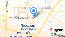 AIM-travel на карте