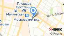 1-е юридическое агентство на карте