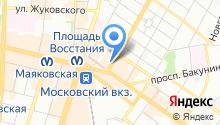 22-я адвокатская консультация Санкт-Петербурга на карте