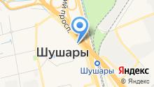 Росток на карте