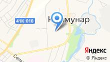 Жилищно-коммунальная служба на карте
