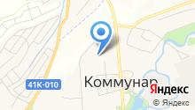 Коммунарская ДЮСШ на карте