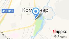 ЗАГС г. Коммунара на карте
