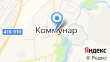 Магазин хлебобулочной продукции на карте