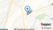 Доберман на карте