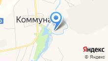 Коммунар, ПАО на карте