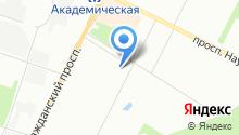 62 отдел полиции Управления МВД Калининского района на карте