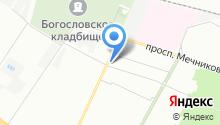 21 отдел полиции Управления МВД Калининского района на карте