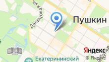 21 отряд ФПС по г. Санкт-Петербургу на карте