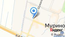 Буханка на карте