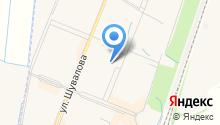 Северная палитра на карте