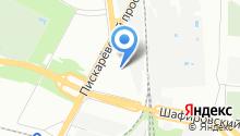 AClass на карте