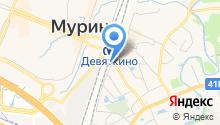 Магазин мяса и молочной продукции на Привокзальной площади (Всеволожский район) на карте