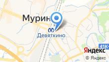 Продуктовый магазин на Привокзальной площади на карте
