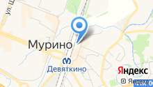 Магазин укрывного материала на Привокзальной площади (Всеволожский район) на карте