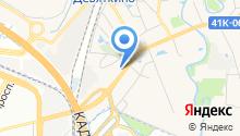 Сеть магазинов товаров с уценкой на карте