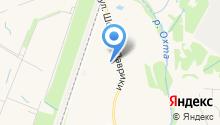 Муниципальная управляющая компания, МАУ на карте