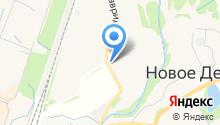 Муринский Посад на карте