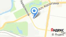 1154, ЖСК на карте