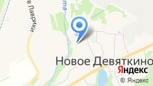 Лапочка на карте