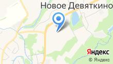 Автостоянка на Главной (Новое Девяткино) на карте