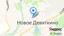 Эпиона на карте