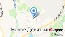 Девяточка на карте