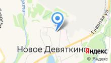 Муниципальное образование Новодевяткинское сельское поселение на карте