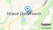 Красивая на карте
