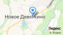 Девяткинская на карте