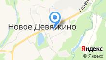 Мустанг на карте