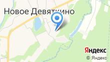Паспортная служба на карте