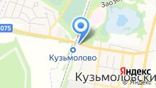 Белорусский дворик на карте