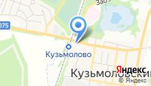 Магазин галантерейных товаров на Железнодорожной (Всеволожский район) на карте