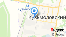 Ателье на ул. Рядового Иванова на карте