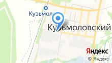 Администрация городского поселения Кузьмоловский на карте
