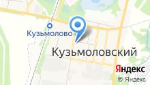 Кузьмоловская поликлиника на карте