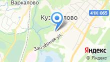 Автостоянка на Заозёрной (Кузьмолово) на карте