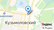 Грузинская пекарня на карте