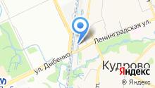 Шиномонтажная мастерская на Ленинградской (Всеволожский район) на карте