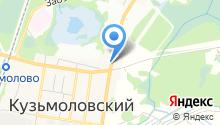 Магазин куры-гриль на Ленинградском шоссе (Всеволожский район) на карте