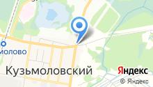 Магазин автотоваров на Ленинградском шоссе (Всеволожский район) на карте