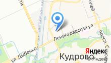 Ленинградская 3, ТСЖ на карте
