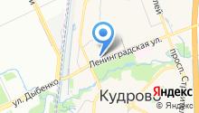 Невские Берега на карте