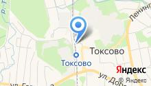 Платный туалет на карте
