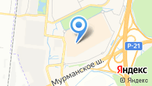 ИКЕА Дыбенко на карте