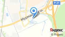 Каминыч на карте