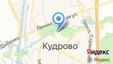 Храм Святого Апостола и Евангелиста Иоанна Богослова в Кудрово на карте