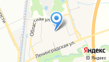 Вилочка на карте