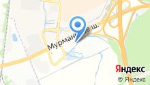 Лаура-Кудрово на карте